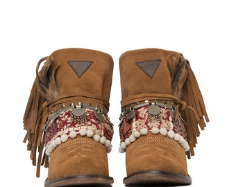 West Tribal Layer boots