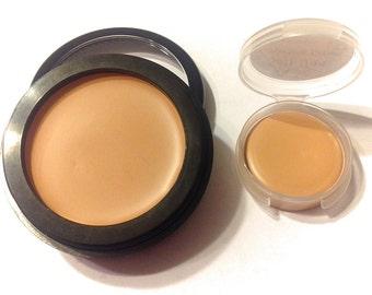 SOFT TAN Perfecting Cream Foundation - Creamy Foundation Concealer Makeup - Gluten Free Vegan