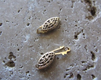 14kt Gold Filled Fish Hook Clasps 2 clasps