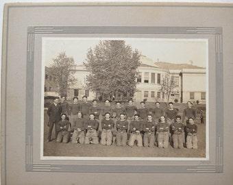 Vintage Football Team Photo College Team Portrait
