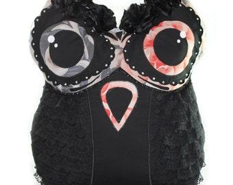 Owl-pillow decorative, owl, decorative , pillow , home