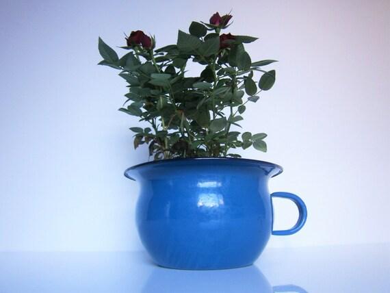 Vintage fran ais ancien pot de chambre maill par - Pot de chambre antique ...