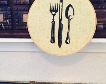 Cloth Hoop With Stencil