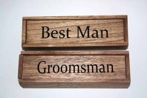 Groomsman Cigar Box
