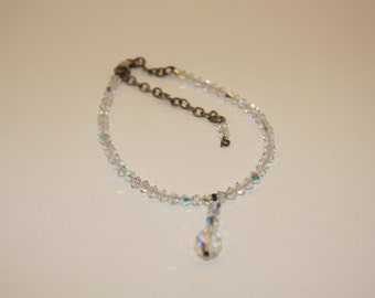 Bracelet, Vintage Iridescent Bead Bracelet