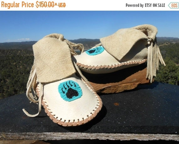 handmade moccasins for sale beaded moccasins handmade fringe moccs by 2572