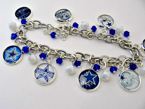 dallas cowboys charm bracelet dallas cowboys charm bracelet dallas cowboys jewelry dallas 5695