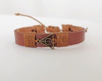 Leather bracelet,Black bracelet, Men bracelet,Friendship bracelet,Design your own style