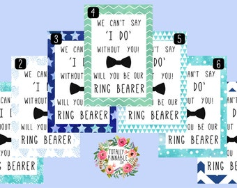 Will You Be Our Ring Bearer? Confetti in a glassine envelope, perfect for your wedding!