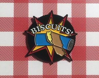Biscuits! Enamel Pin