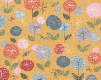 Mon Ami Fleur Moutarde by Basic Grey for Moda, 1/2 yard, 30410 14