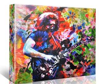Jerry Garcia - The Grateful Dead Canvas Art Print