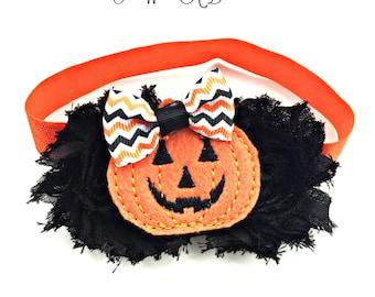 Pumpkin Headband, Pumpkin Hair Bow, Pumpkin Hairbow, Pumpkin Hair Clip, Pumpkin Baby, Jack O Lantern Bow, Halloween Headband