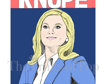 Parks & Rec-Knope 2016 Print (8x10 or 11x14)