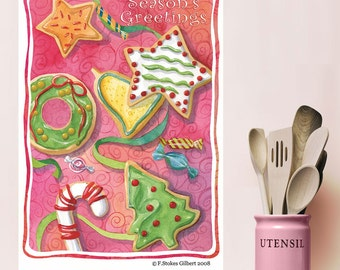 Christmas Cookies Holiday Wall Decal - #65600