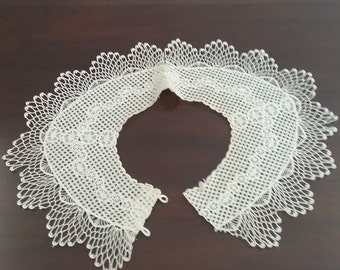 Vintage Lace Collar or Dress Accent  #7
