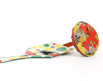 Vintage Tin Novelty Noise Makers, Party Favors, Birthday Party