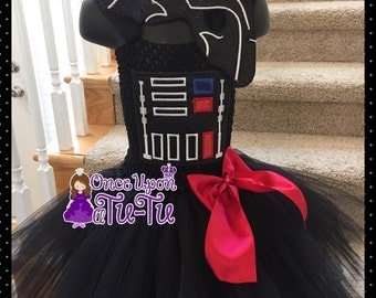 Darth Vader tutu. Darth Vader dress. Darth vader costume. Darth vader dress up. Darth vader costume.