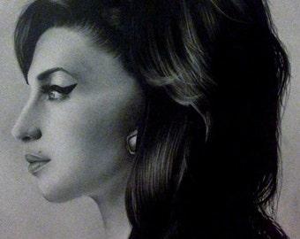 Amy Winehouse Original Portrait