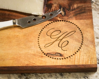 Personalized Cutting Board, Engraved Cutting Board Monogrammed Board, Custom Serving Platter: Wedding Gift, Housewarming Gift