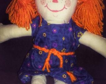 Unique handmade Rag/Cloth doll