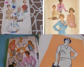 U Pick Sewing Patterns Vintage Blouses