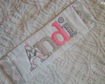 Custom Personalized Burp Cloth with Name.
