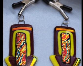 Artisan nipple clamps