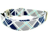 Plaid Dog Collar-  DC-5119