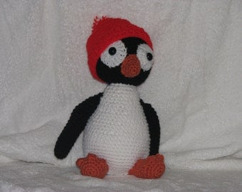 "12"" Tall Perry Penguin - A Great Cold Weather Friend for Any Child"