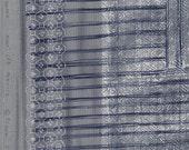 ON SALE Ori-some Fabric Grey ~ nani IRO 2016 Fabric ~ Cotton Double Gauze Fabric ~Japanese Fabric ~Kokka ~ Naomi Ito ~ Quilt Fabric ~ Appare