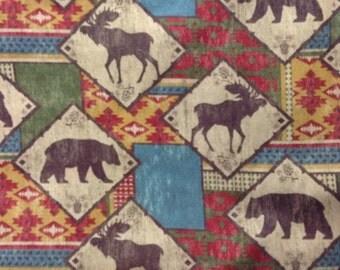 One Half Yard of  Fabric Material - Northwoods