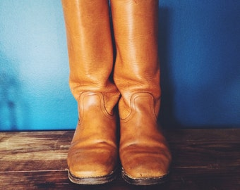 Vintage Frye Campus Boots