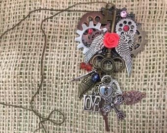Keys wings and gears