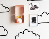 Die Cut Clouds - WALL DECAL