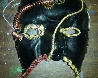 Riveted Steampunk Mask