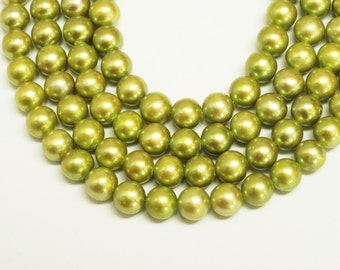 Cultured  Freshwater Pearl Potato Shape Beads