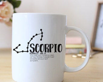 Scorpio Zodiac Horoscope 15 oz Coffee Mug