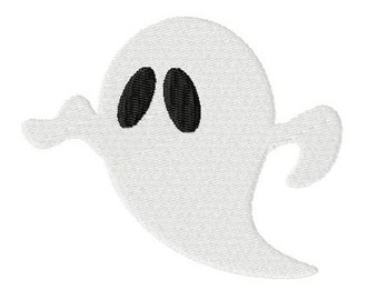 Embroidery Design Ghost 4'x4' - DIGITAL DOWNLOAD PRODUCT
