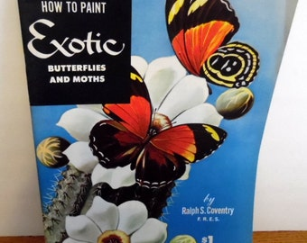 Art how to book, by Walter Foster.  How to Draw Exotic Butterflies & Moths