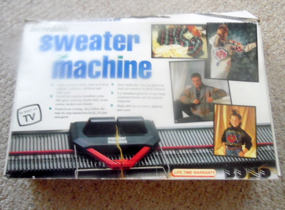 the ultimate sweater machine