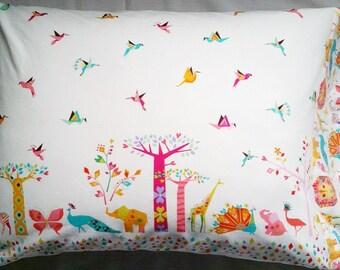 Origami Oasis Pillowcase
