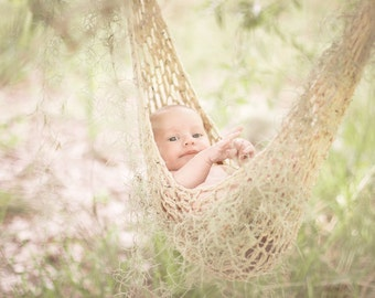 MADE TO ORDER Crochet Hammock Newborn Photo Prop Choose Your Color