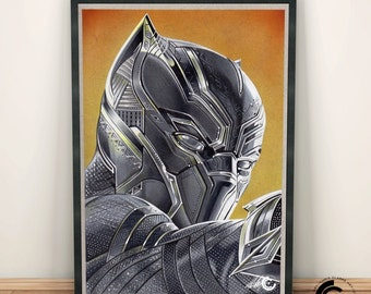 Black Panther Limited Edition Print