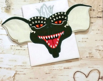 Mischievous Creature 3D 5x7 Applique