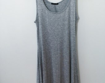 Everday Grey Tank Dress