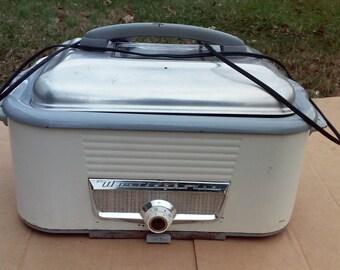 Vintage Westinghouse 1950's Roaster Oven / Slow Cooker  MODEL