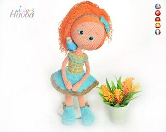 PATTERN  - Alya Doll