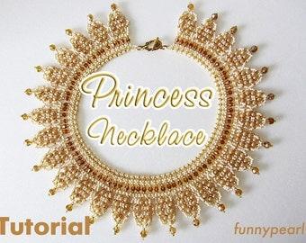 Necklace Princess. Tutorial PDF