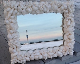 Beach Decor - Shell Mirror (LM012)